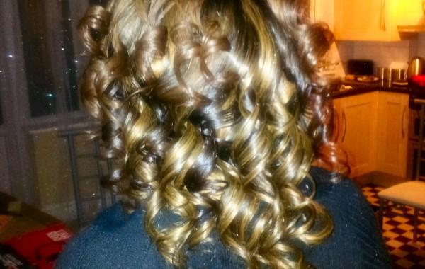 Half head weave, human hair (2)